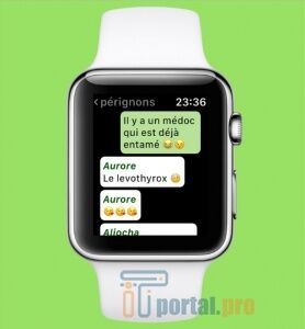 Whatsapp на Apple Watch 3