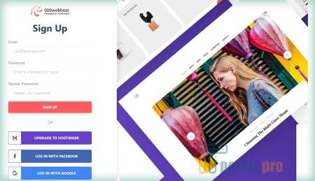 Сайт 000webhost.com